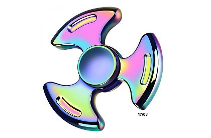 Fidget Spinner - Metalic Rainbow 17/08