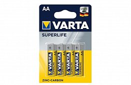 Bateriile Varta AA – Superlife - blister 4 buc.